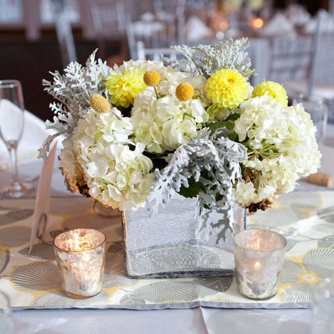 Yellow Wedding Flowers Ideas: Gray+and+Yellow+Wedding+Bouquets