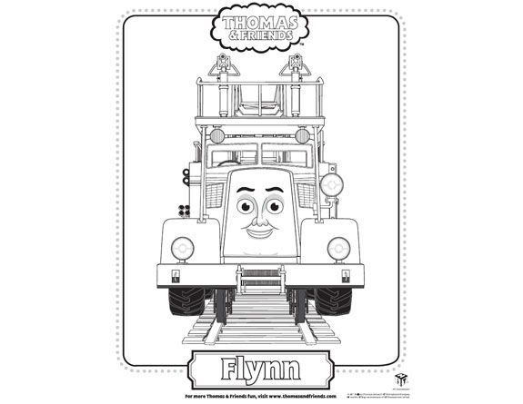 Thomas & friend coloring pages... party favors?   { Carter\'s 3rd B ...