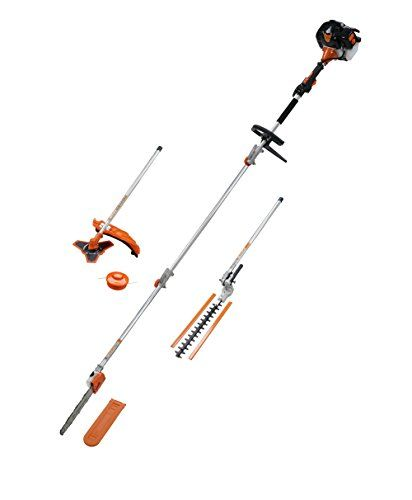 52 Cc Long Reach Petrol 5in1 Multi Power Tool Hedge Trimmer Chainsaw Strimmer Bush Cutter Free Extention Pole Hedge Trimmers Pole Saw Hedges