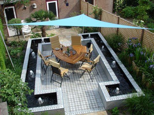 Portugese Tegels Tuin : Portugese en marokkaanse tegels in de tuin tuin