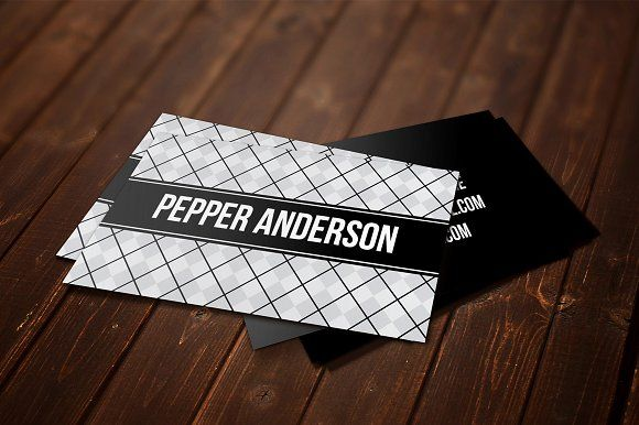 Pepper Business Card Template by Pip Sweet on @creativemarket - pip template