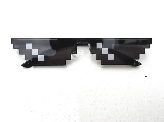 Thug Life Cool Glasses Transparent Png Desain