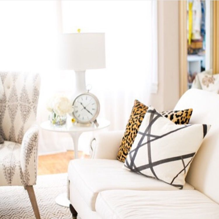 Side table and Audrey lamp by Lulu and Georgia