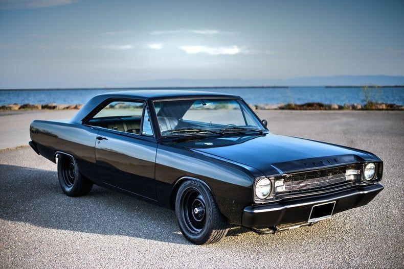 1967 Dodge Dart All Black Dodge Dart