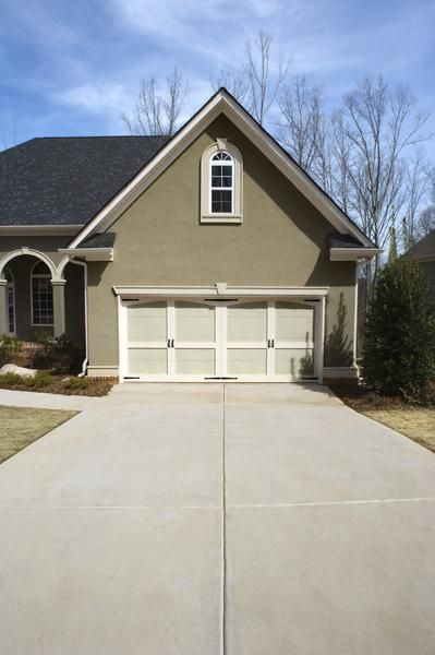 How to Fix a Gap Between the Driveway & Garage | Cleaning concrete driveway, Building a deck ...