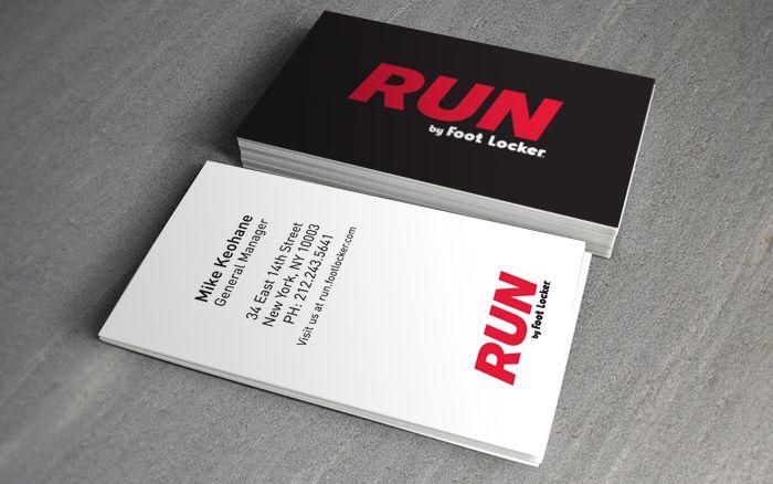 Run by foot locker business card renard pinterest foot locker run by foot locker business card reheart Images