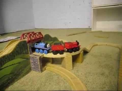 Thomas Wooden Railway Set Review Mountain Tunnel Set Brio Banjo