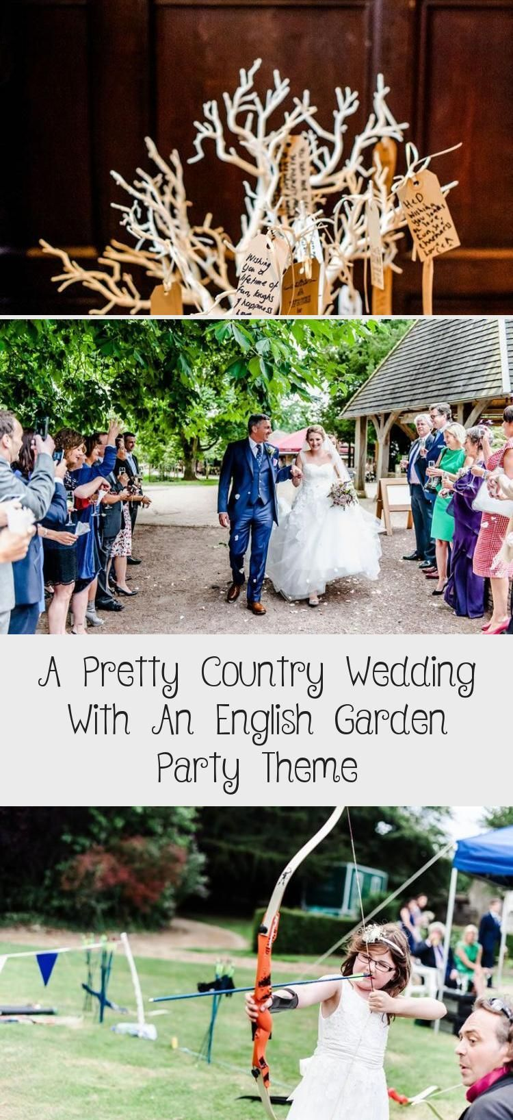 A pretty country wedding with an English garden party theme wedding themes A Pretty Country Wedding With An English Garden Party Theme  Pinokyo