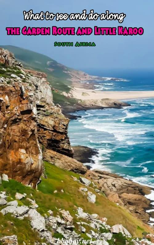 One of South Africa's most diverse and beautiful regions. This post covers the highlights of the Garden Route and Little Karoo #bbqboy #GardenRoute #Karoo #SouthAfrica #travel