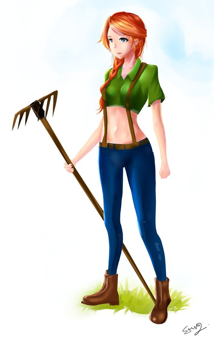 Leah - Stardew Valley by stungman | Valley of the Stars