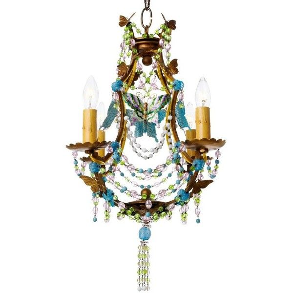 Canopy Designs Butterfly Mosaic Chandelier ($1,902) ❤ liked on ...