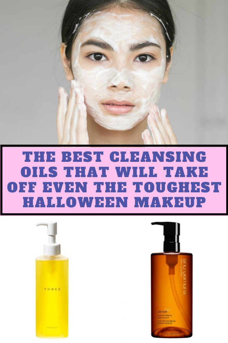 The Best Cleansing Oils That Will Take Off Even The Toughest Halloween Makeup Best Cleansing Oil Cleansing Oil Waterproof Makeup