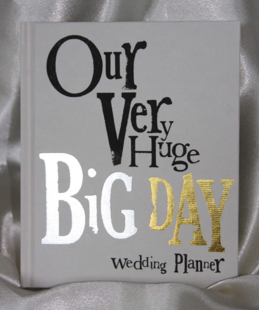FANTASTIC Our very Huge Big Day WEDDING PLANNER Book Wedding