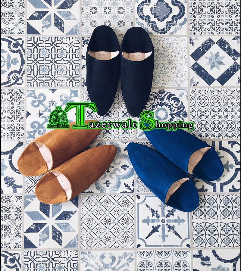 Moroccan leather slippers moroccan slipper, Moroccan