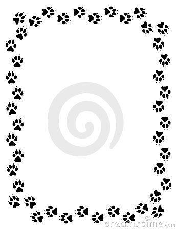 wolf print stock photos image 6882613 wolf images pinterest rh pinterest com Cat Paw Print Clip Art dog paw print border clip art