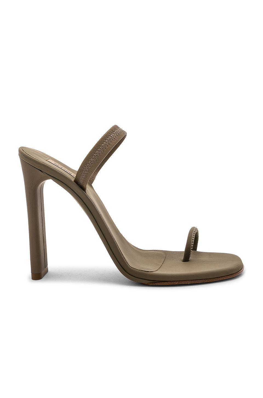b05adb6e5 YEEZY SEASON 6 MINIMAL SLING BACK SANDAL 110MM. #yeezy #shoes ...