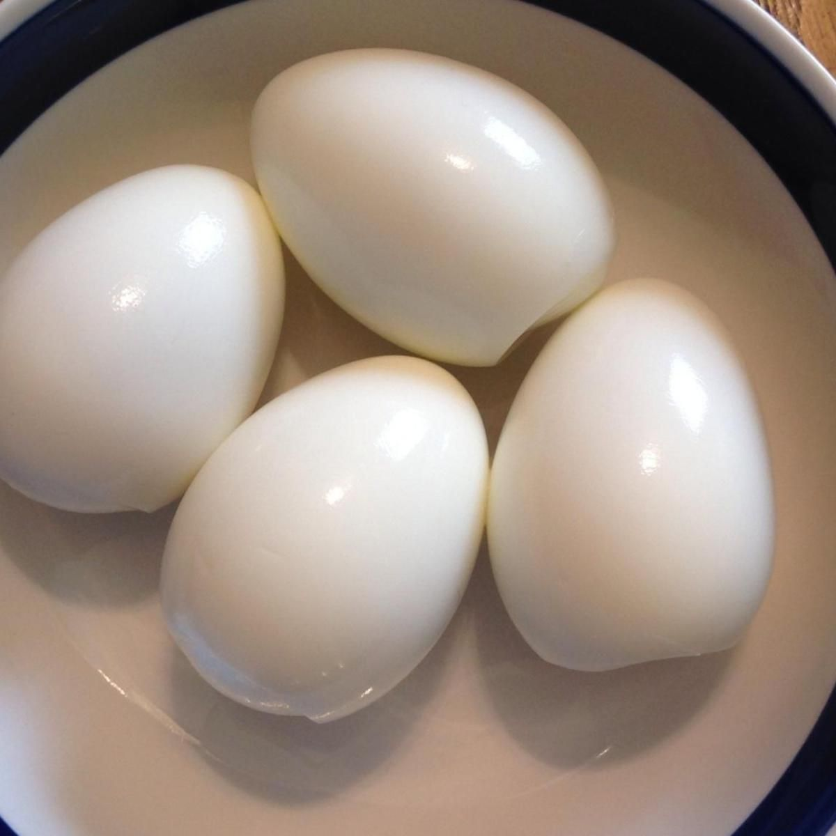 Perfect Hard Boiled Eggs (easy Peeling)