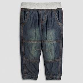 Toddler Boys' Lined Chino Pant Jeans - Navy - Cherokee