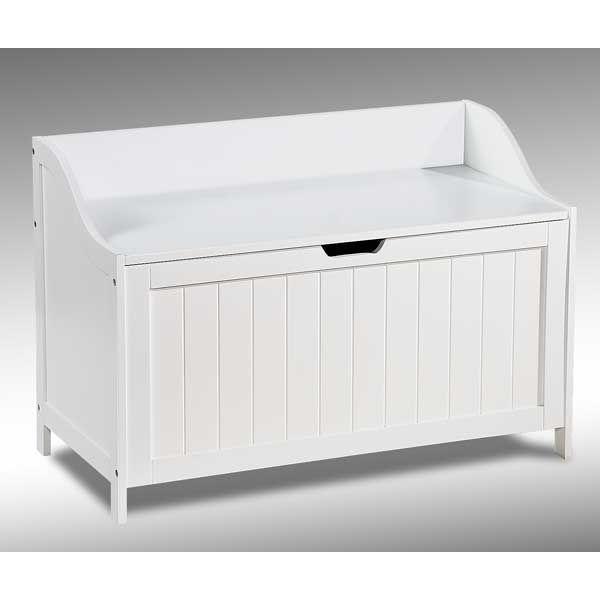 Alabaster white storage chest 1a 2079