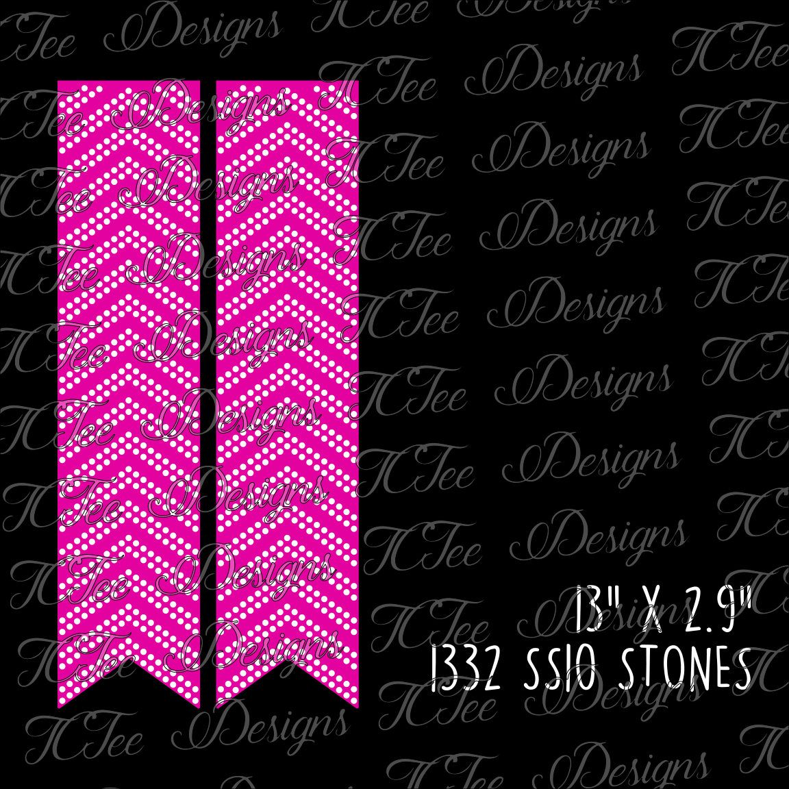 Rhinestone Cheer Bow Template - SVG Design Download - Vector Cut ...