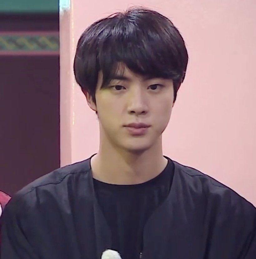 Lq Pic Of A Thoughtful Jin Worldwide Handsome Bts Jin Seokjin