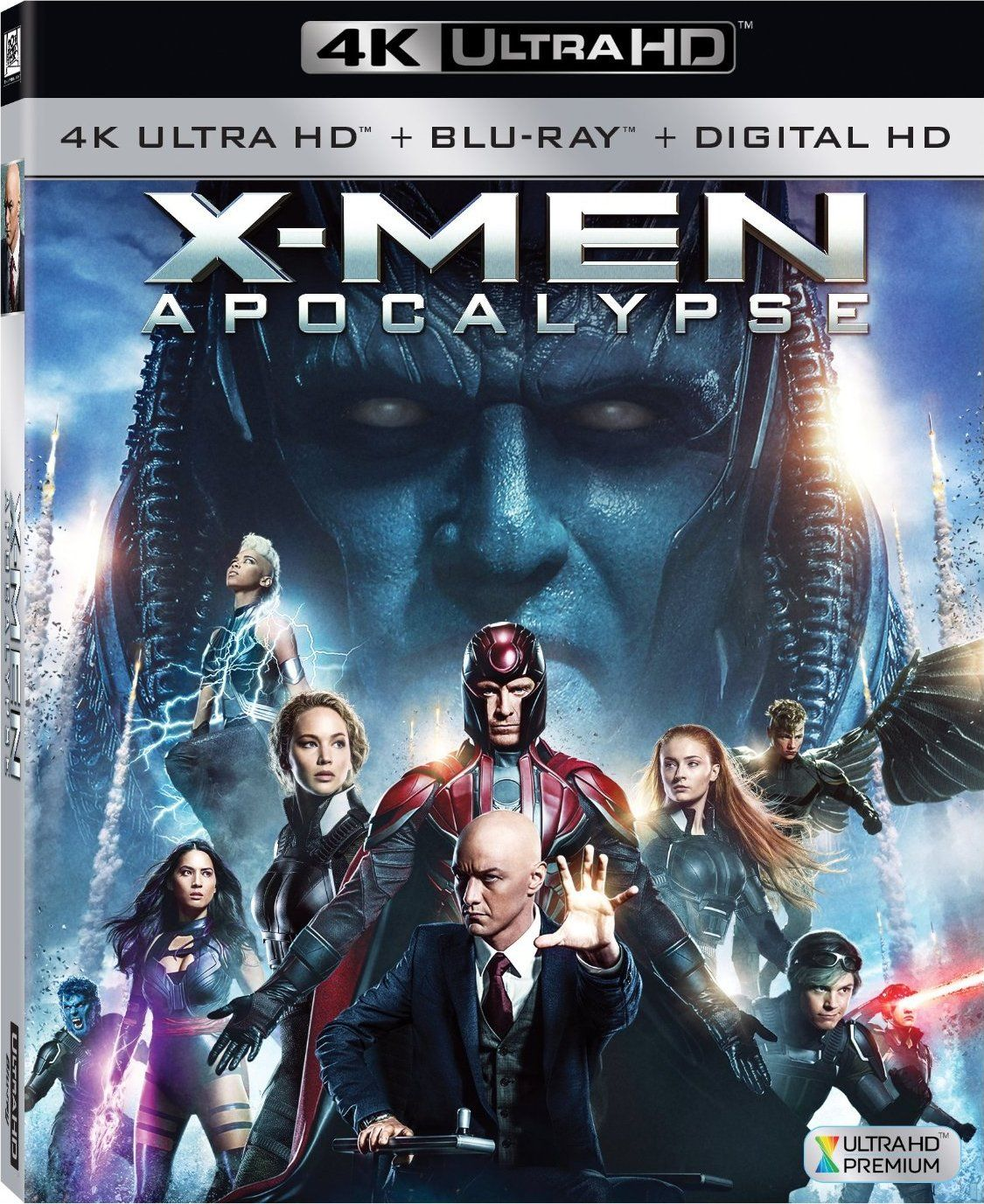X Men Apocalypse 2016 4k Ultra Hd Blu Ray Apocalypse Movies X Men Apocalypse X Men