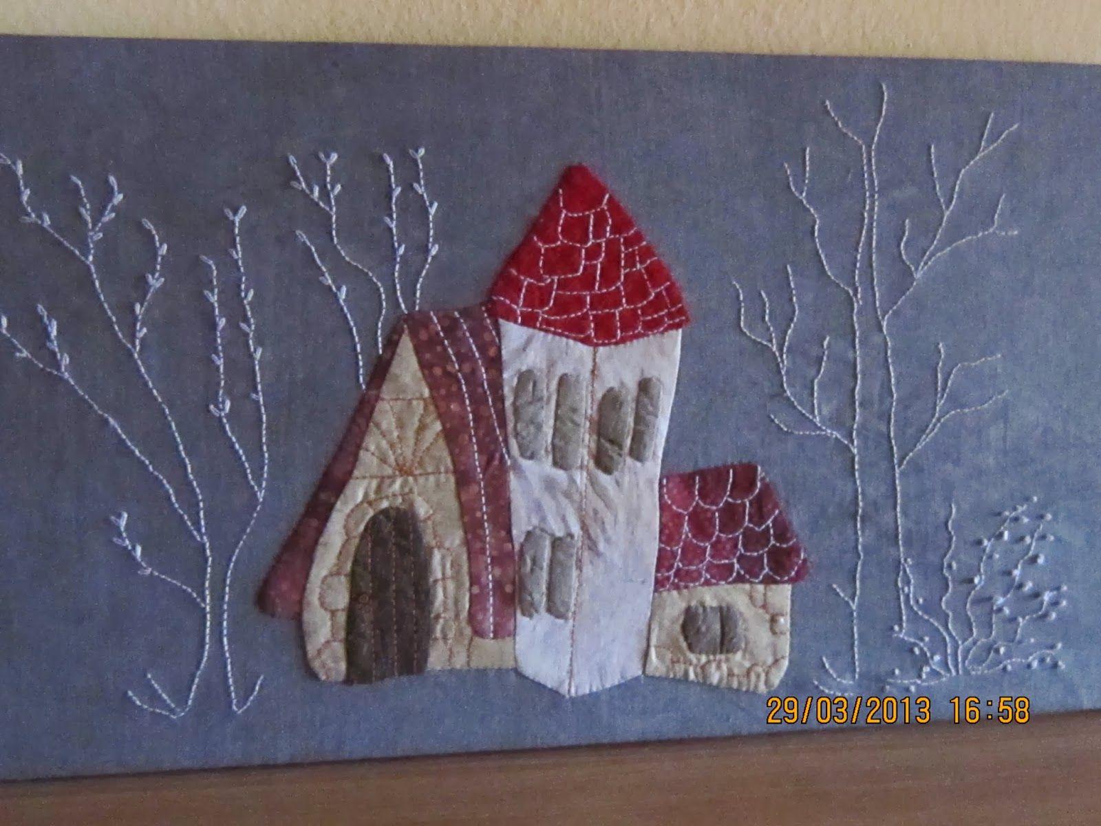 Resultado de imagen de eva gustems cuadros patchwork - Casas de patchwork ...