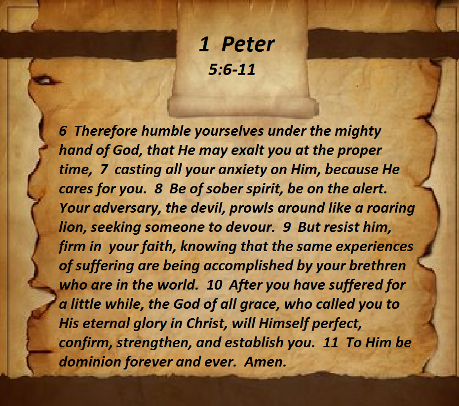 1 Peter 5611 Scripture verses, Bible knowledge, 1 peter