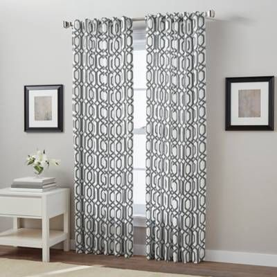 Product Image For Link Back Tab Window Curtain Panel Panel Curtains Curtains Window Curtains