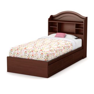 South Shore Little Treasures Twin Mates Bed With Drawers And