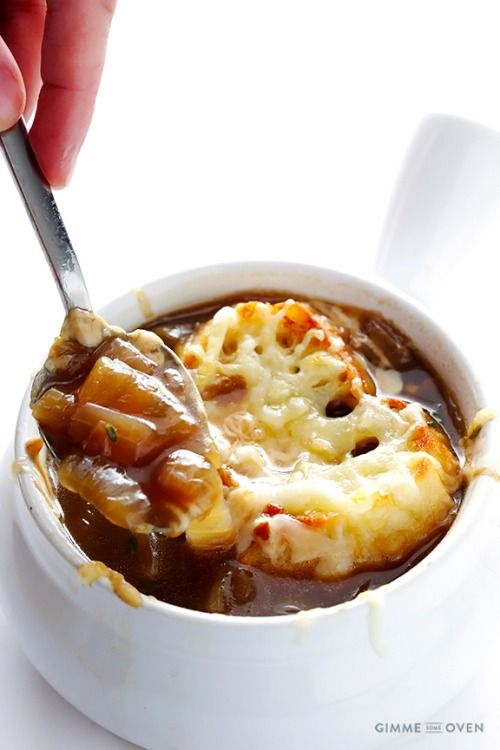 FRENCH ONION SOUP    Really nice recipes. Every hour.