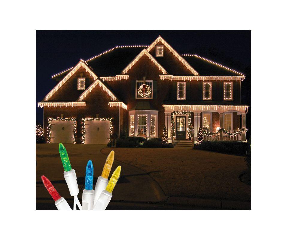 Christmas At Winterland S Icm55m Iw Holiday Lights Christmas Lights Outside Icicle Christmas Lights