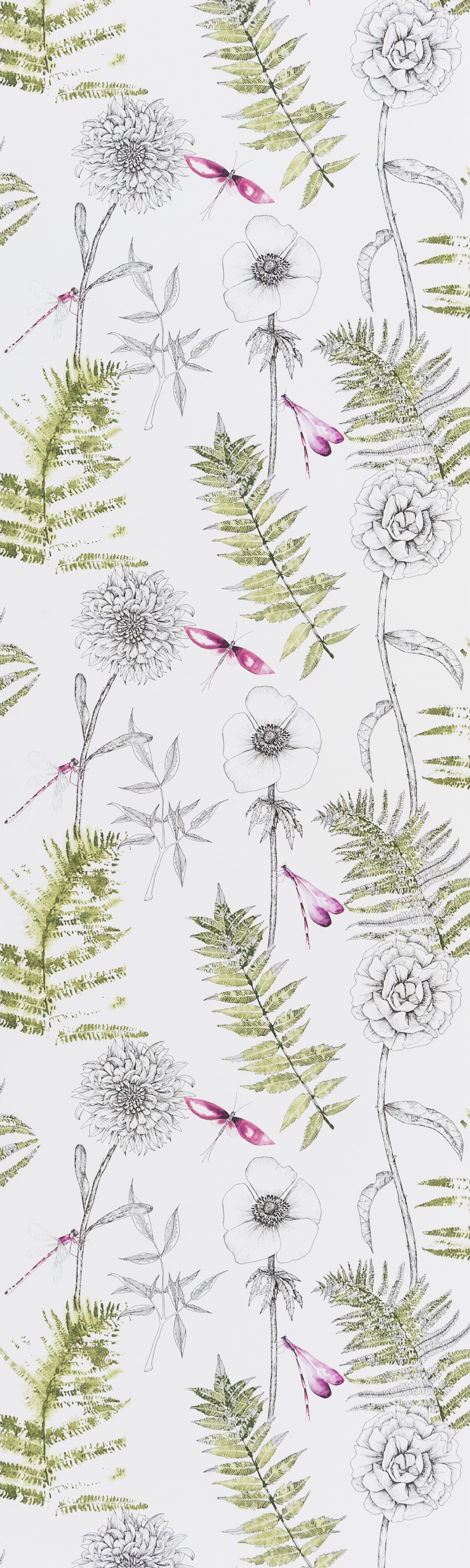 Designers Guild Acanthus Moss wallpaper EB FAVOURITE DESIGNERS