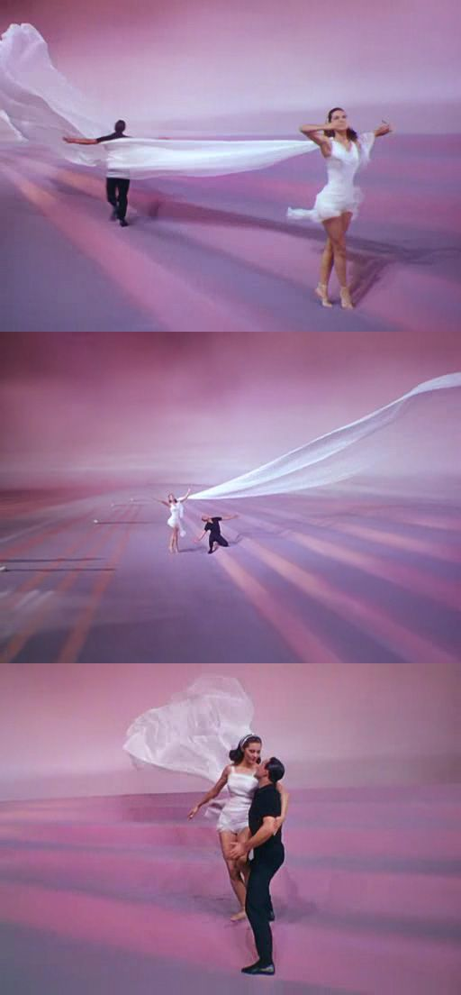 Singin\' in the Rain ballet sequence with Cyd Charisse and Gene Kelly ...