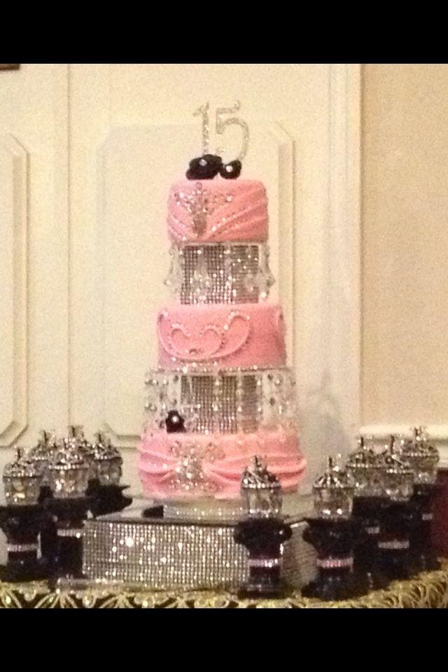 Mimi's delicious diamond Quince cake Created by: Melissa Novella @ SweetCakesByMel.com