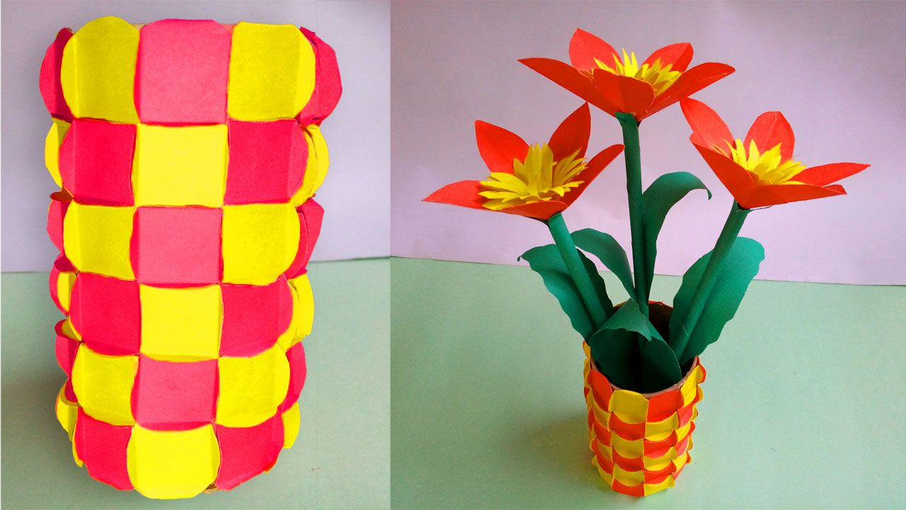 Pin By Sadialihaz On Projects To Try Paper Flowers Vases Decor