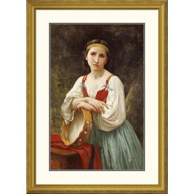 Yvonne by William-Adolphe Bouguereau Print of Painting on