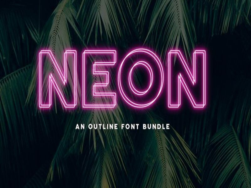 Neon Font Family Free Download Free Fonts Download Free Script Fonts Neon