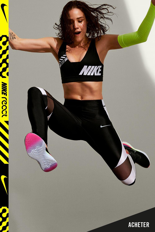 Chaussure de running Nike Epic React Flyknit 2 pour Femme ...
