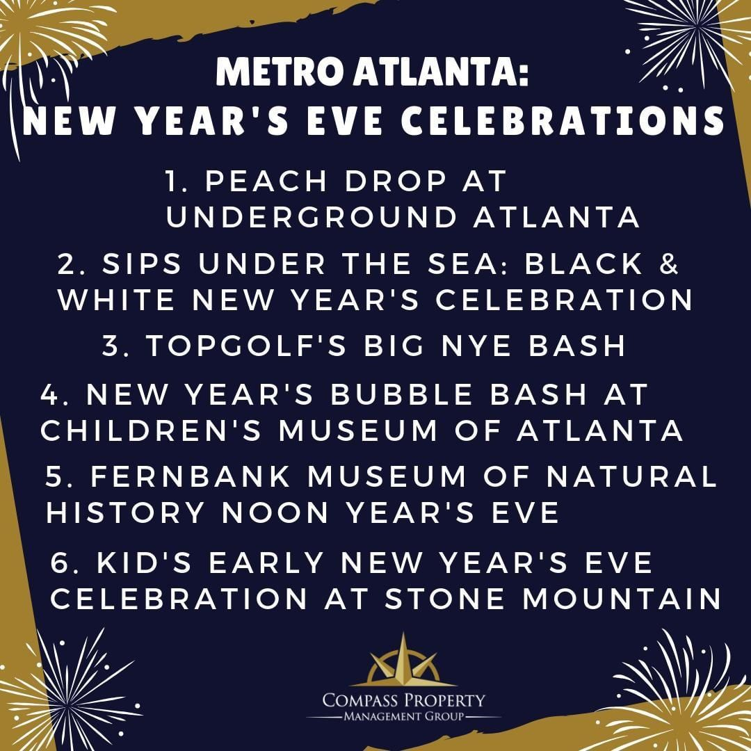 Metro Atlanta Nye Metro Atlanta New Year Celebration New Year S Eve Celebrations