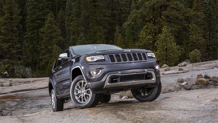 The Jeep Quadra Lift Air Suspension System Features Five Height