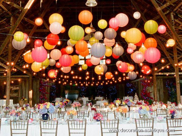 Bien-aimé Nuage de boules chinoises mariage | Décoration* [| Embellishment  PL49