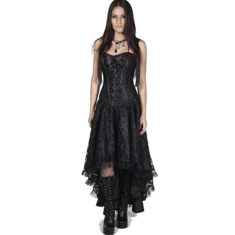 Kleid viktorianisch aus Spitze mit Korsett - Ophelie Dress ...