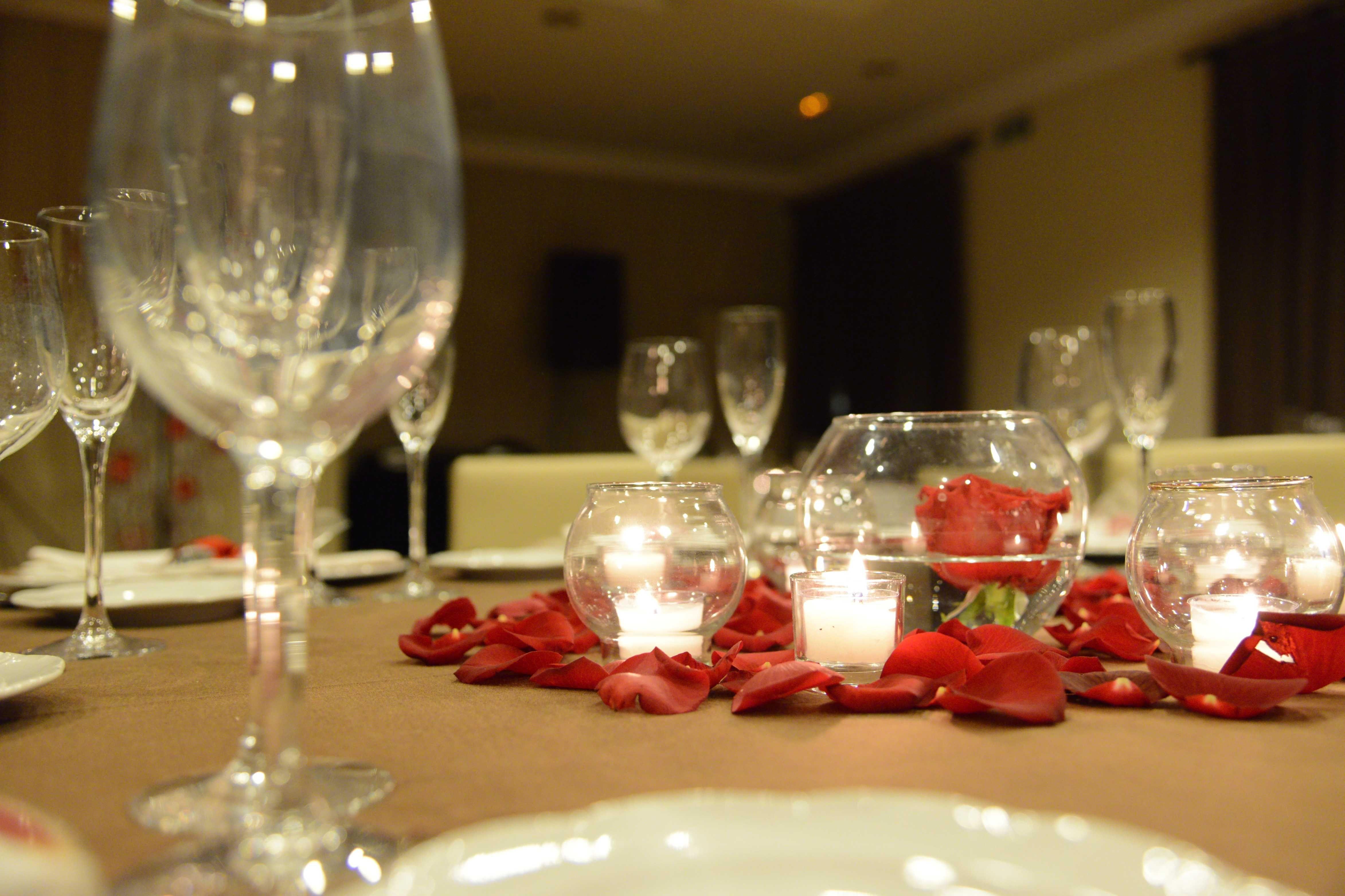 Decoración mesas el día de San Valentín | Decoración mesas | Pinterest