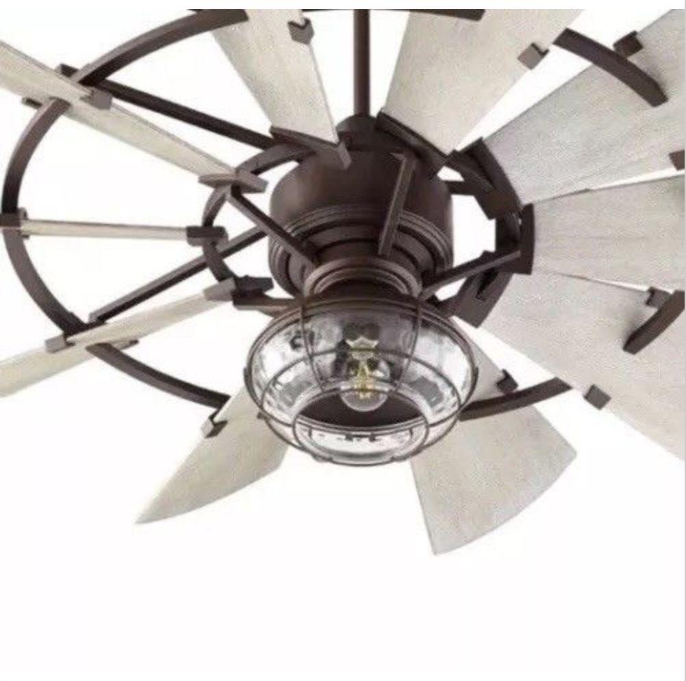 Ceiling Fans 176937 Quorum 1974 86 1974 9 Windmill Fan Single Light Kit Bronze Or Galvanized Buy Windmill Ceiling Fan Ceiling Fan With Light Windmill Fan