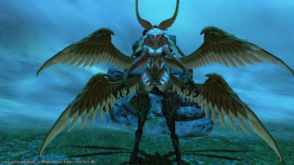 Garuda from Final Fantasy XIV: A Realm Reborn  My favorite