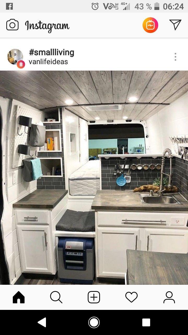 Photo of Wardrobe next to bed, burner on left counter, sink, microwave, shower, fridge on…