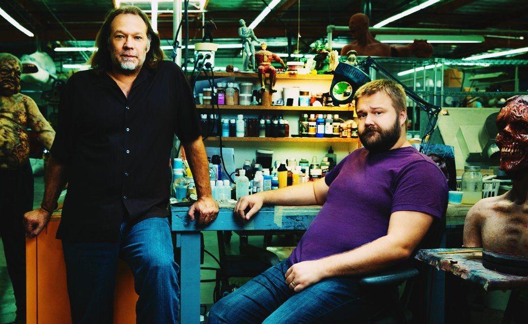 Greg nicotero and Robert kirkman
