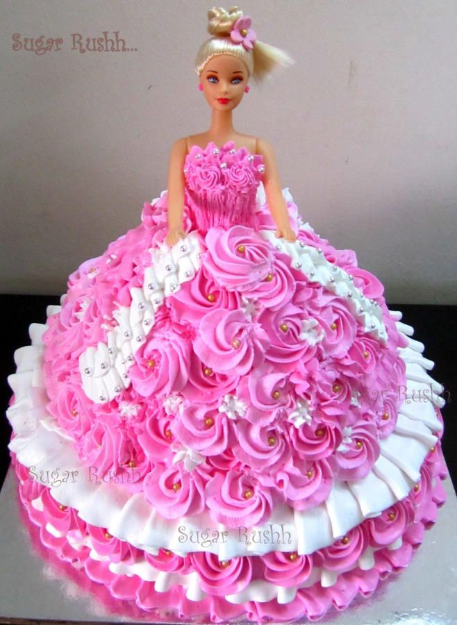 Decoration Gateau Barbie Massive Barbie | Amazing Cakes | Gateau Anniversaire Fille