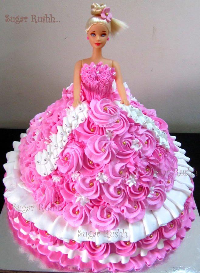 Massive Barbie AMAZING CAKES Pinterest Barbie Cake And - Birthday cake doll princess